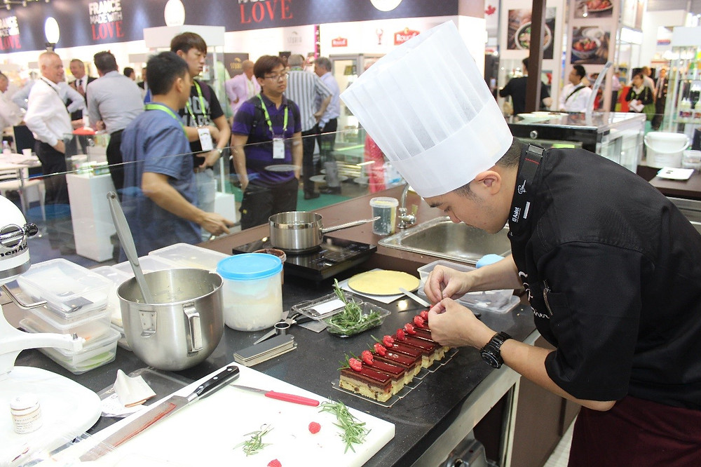 Live Demonstration: Dessert making by Chef Ian