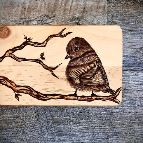 Blue Bird Charcuterie Board