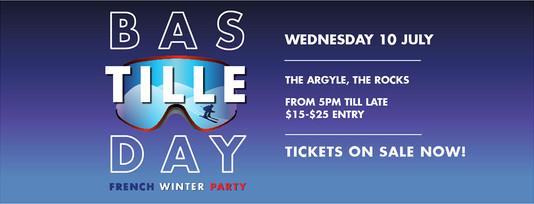 Bastille Day Facebook promotional Facebook banner