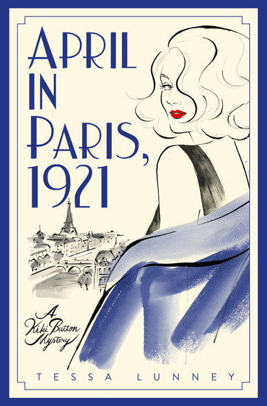 Tesse Luney's book for author event: 'April in Paris, 1921'