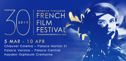Home banner for the Alliance Française French Film Festival