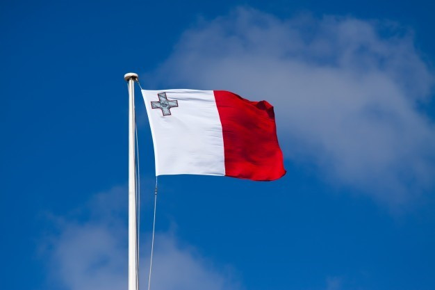 The flag of Malta and the Maltese people.