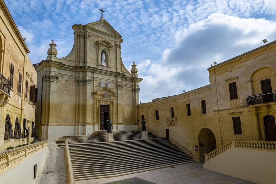 Malta's beautiful Citadella on Gozo island
