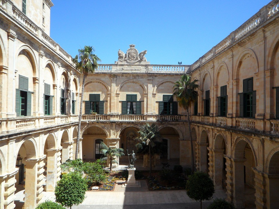 Grand Master's Palace located in Malta, Valletta.