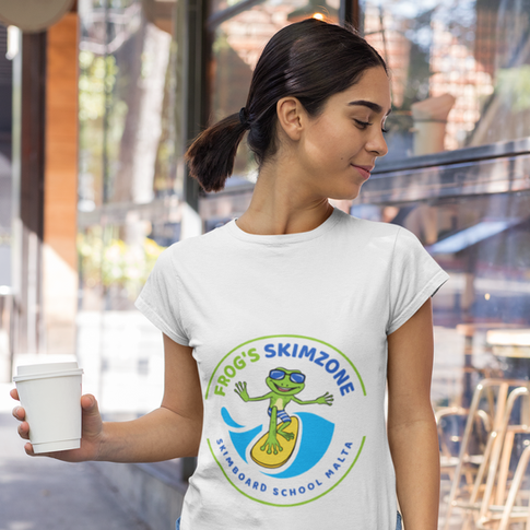 T-shirt and our brand Logo design