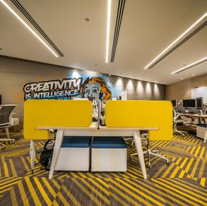 עיצוב חללי עבודה משרדיים
