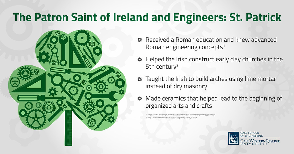 What did St Patrick do for Engineering?