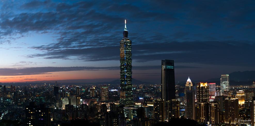 Taipei 101 building, Taipei - Taiwan, 2017