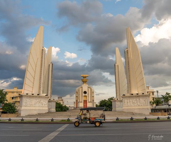 Democracy Monument. Bangkok - Thailand, 2017
