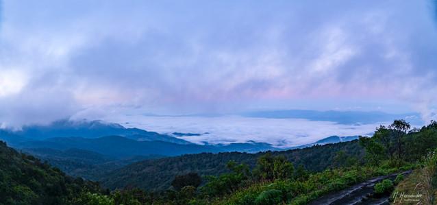 Sunrise at Doi Inthanon, Thailand. 2017