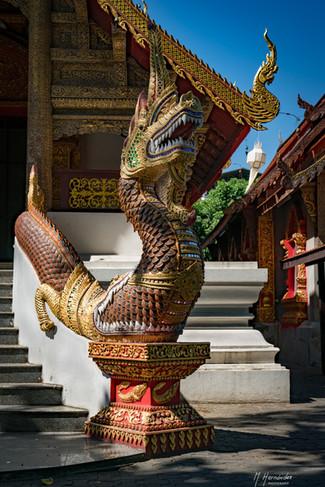 Wat Prasat. Chiang Mai - Thailand, 2017