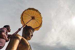 Wat Chulaporn Wanaram. Nakhon Nayok - Thailand, 2017