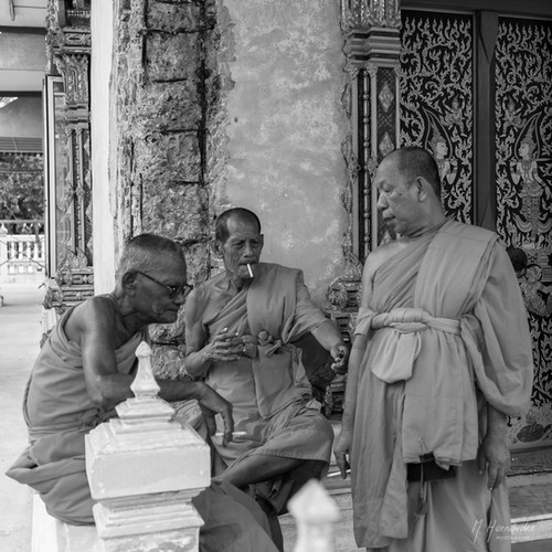 Monks on a Break