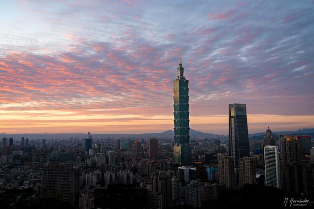 Taipei 101, Taiwan. 2017