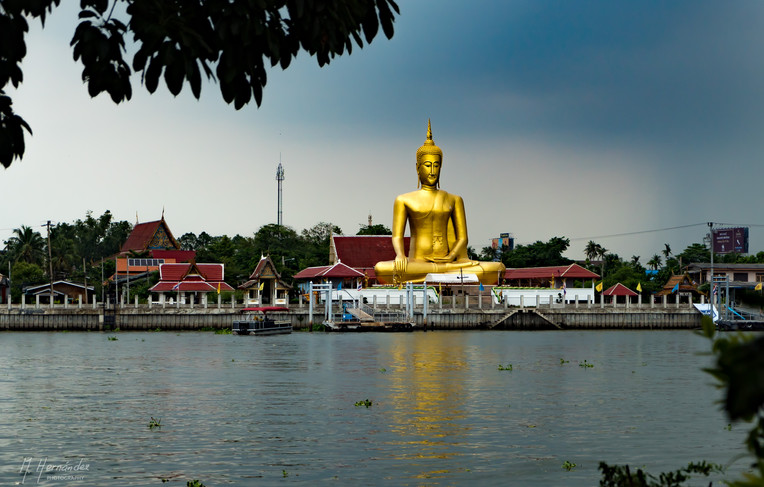 Wat Klang Kret. Ko Kret - Thailand, 2016