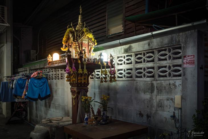 Spirit House.  Siriraj - Thailand, 2016.