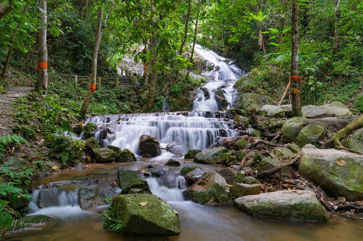 Mae Kampong Waterfall, Thailand. 2017