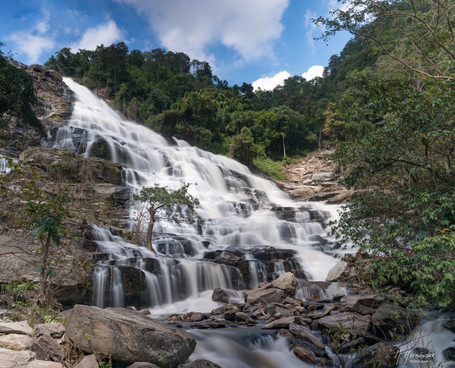 Mae Ya Waterfall, Thailand. 2017