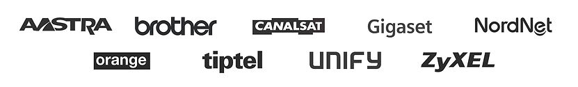 aastra, brother, canalsat, gigaset, orange, tiptel, unify, zyxel, nordnet