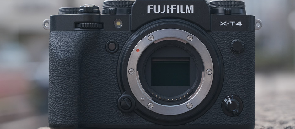 FUJIFILM X-T4 Çıktı!