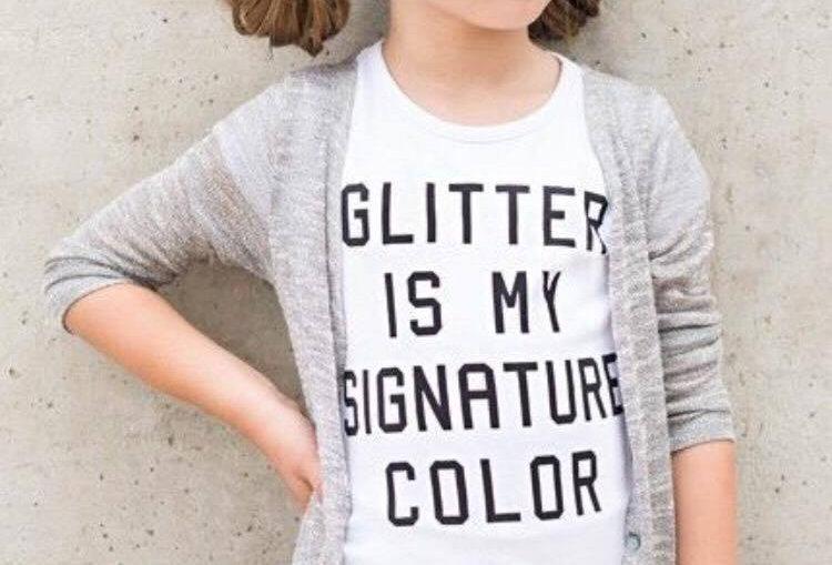 GLITTER IS MY SIGNATURE COLOUR