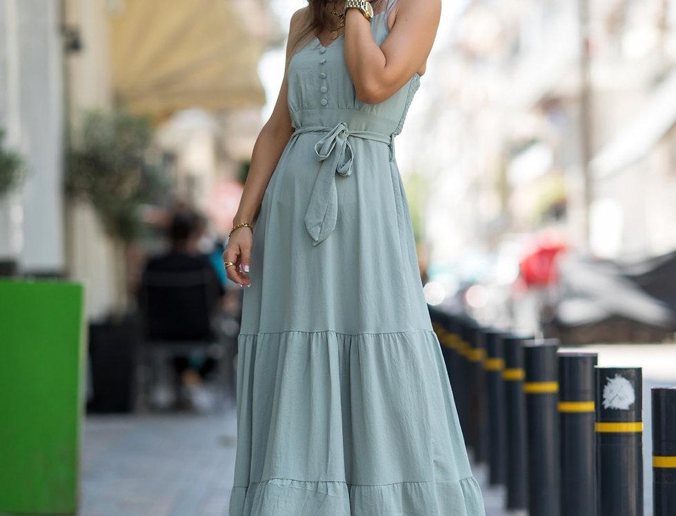 Φόρεμα maxi  βεραμάν