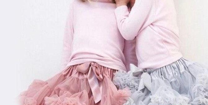 Tutu dusty pink skirt
