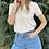 Thumbnail: Μπλούζα με αλυσίδα μπεζ