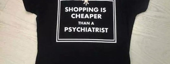SHOPPING IS CHEAPER