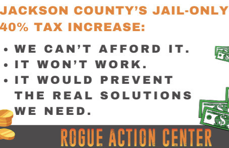 Jackson County's Jail-Only 40% Tax Increase