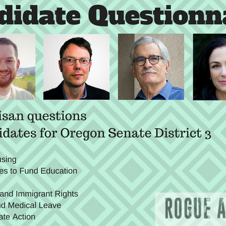 Candidates Respond to RAC Questions on Issues