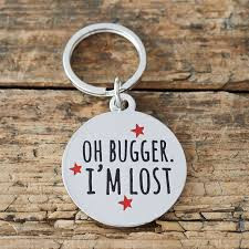 I'm Lost dog tag