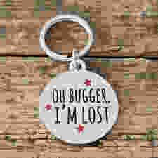 I'm Lost dog tag