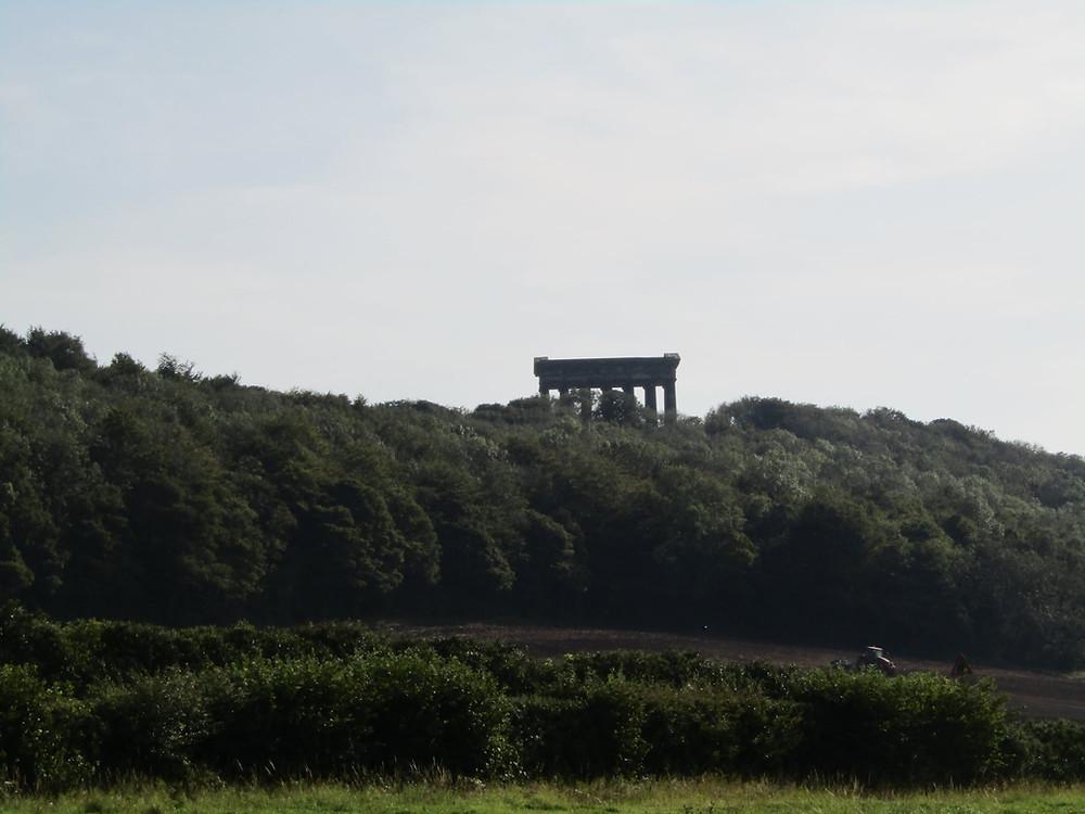 View of Penshaw Monument Sunderland