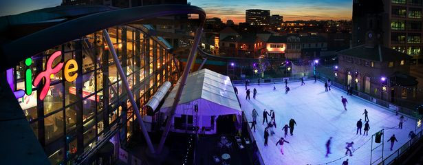 5 places to go Ice Skating & 5 places to see Santa in the North East.