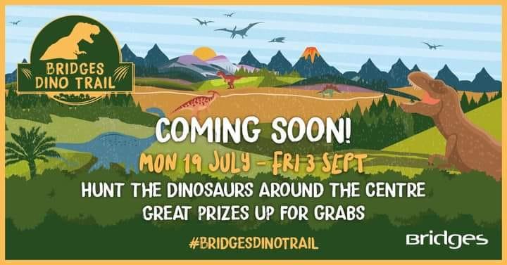 Dino Trail at The Bridges in Sunderland