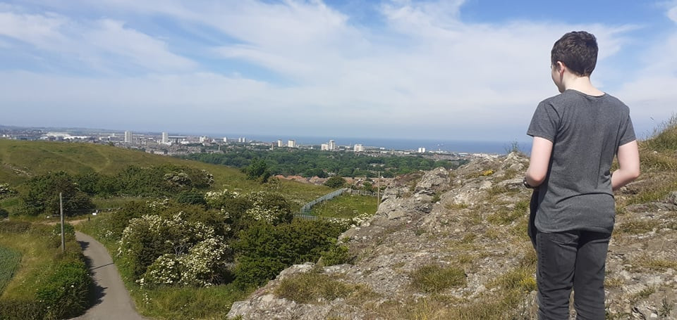 View from Tunstall Hill over Sunderland