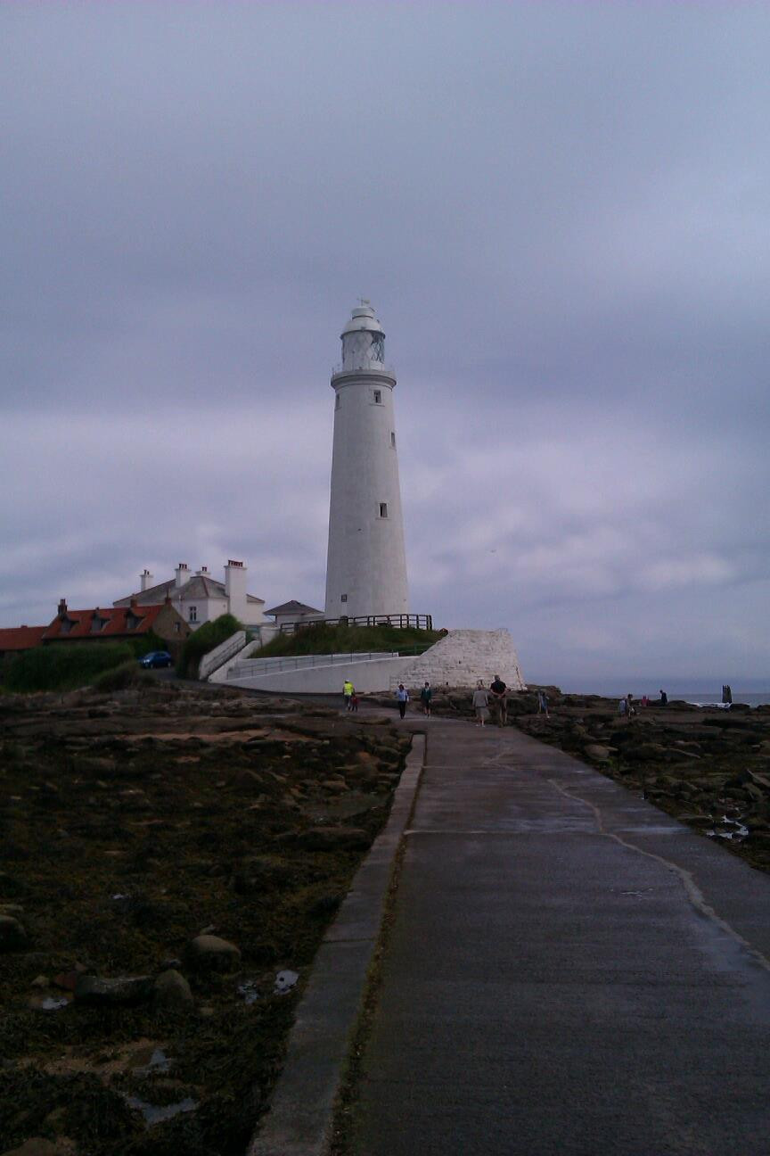 Misty day at the Lighthouse St Mary's