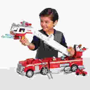 Paw patrol fire truck set