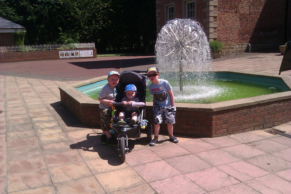 Water fountain at Kirkleatham Museum