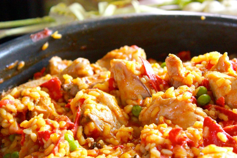 The ultimate slow cooker Paella recipe.