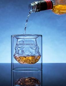 Amazing glass full of drunk