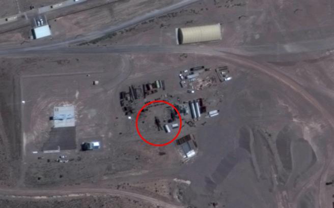 imagen aérea del área 51