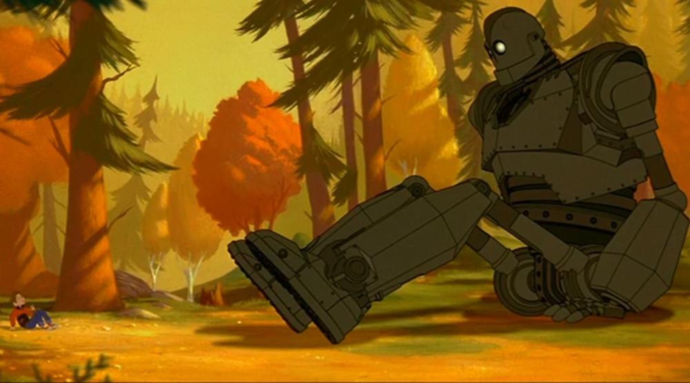 Robot gigante área 51