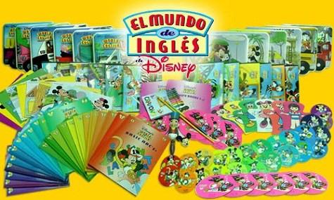 El mundo de inglés Disney