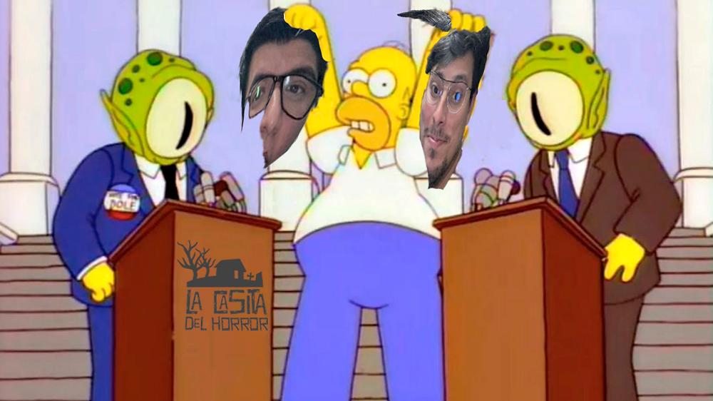 Homero y los extraterrestres