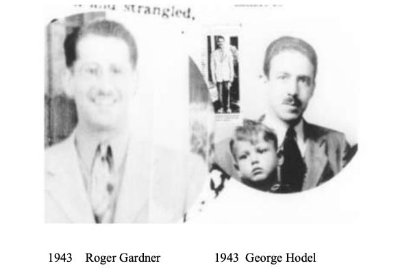 Fotografía de Roger Gardner igual a George Hodel en 1943