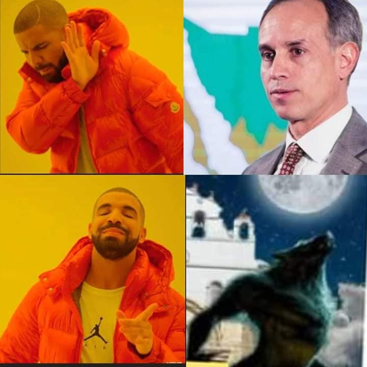 Meme del hombre Lobo mexicano