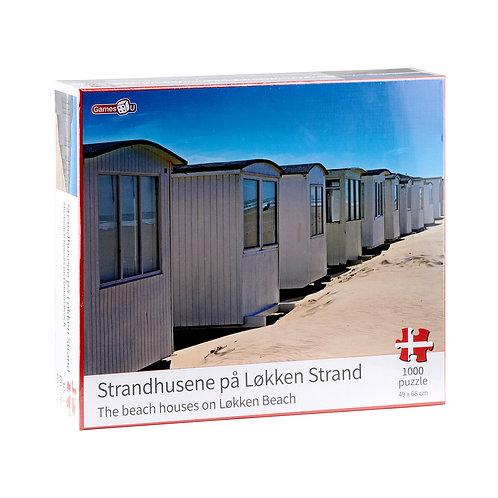 Strandhusene på Løkken Strand