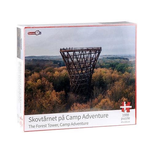 Skovtårnet på Camp Adventure